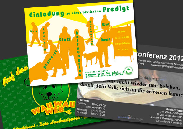 Flyer Copy-Shop Peterskirche